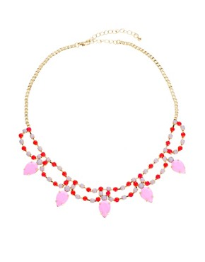 Image 4 ofASOS Multipack Love Paris Necklaces