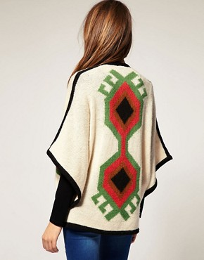 Image 2 ofWarehouse Aztec Cardigan