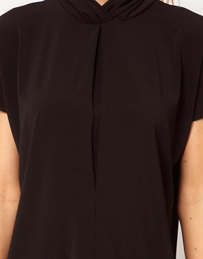 Image 3 ofASOS Ruched High Neck Top