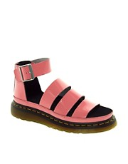 Dr Martens Clarissa Acid Pink Sandals