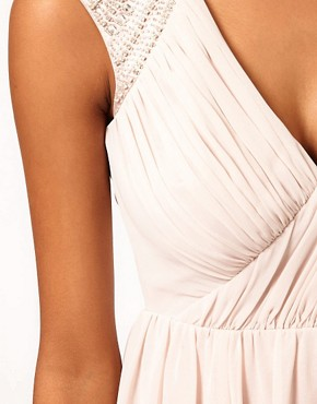 Image 3 ofLipsy VIP Embellished Shoulder Prom Dress