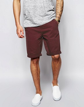 Image 1 ofASOS Chino Shorts In Longer Length