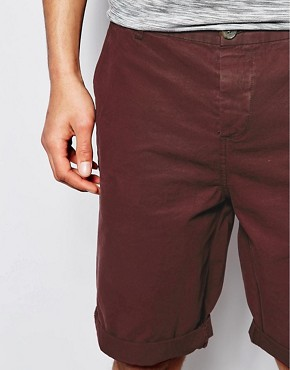 Image 3 ofASOS Chino Shorts In Longer Length