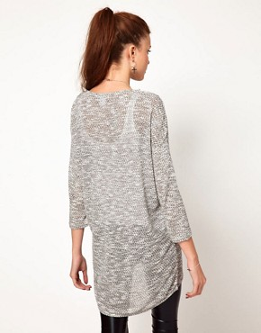 Image 2 ofVero Moda Slouchy Oversize Top