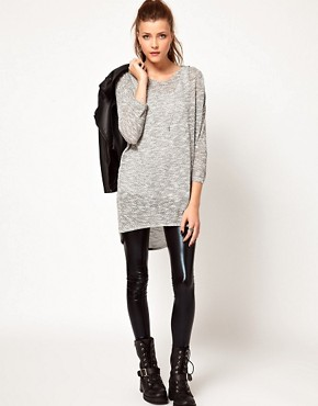 Image 4 ofVero Moda Slouchy Oversize Top