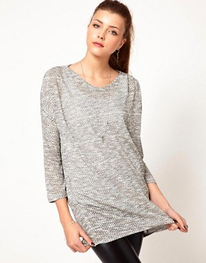 Image 1 ofVero Moda Slouchy Oversize Top