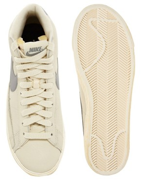 Image 3 of Nike Blazer Mid Natural Sneakers