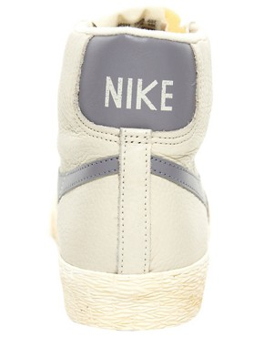 Image 4 of Nike Blazer Mid Natural Sneakers