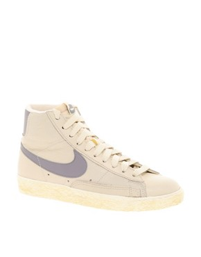 Image 1 of Nike Blazer Mid Natural Sneakers
