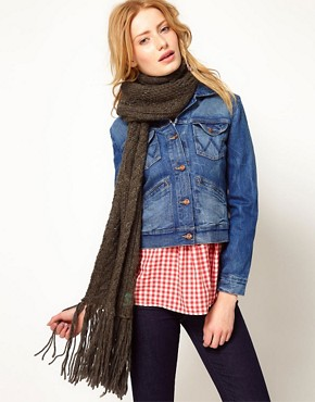 Image 1 ofDenim &amp; Supply Cable Scarf