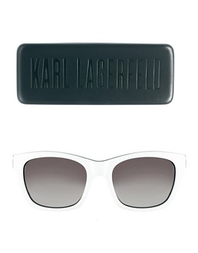 Image 2 ofKarl Lagerfeld Monochrome Sunglasses