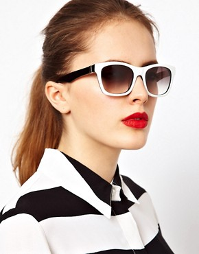 Image 3 ofKarl Lagerfeld Monochrome Sunglasses