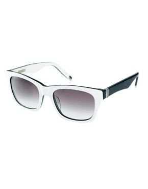 Image 1 ofKarl Lagerfeld Monochrome Sunglasses