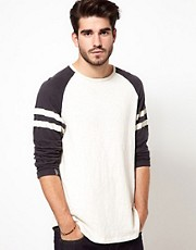 Edwin - Huey Motorbike - Maglia a maniche lunghe raglan