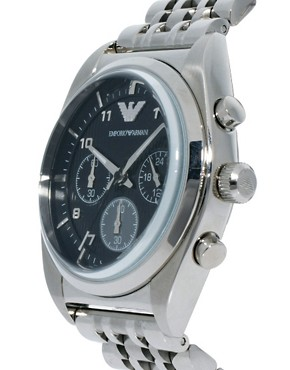 Image 4 ofEmporio Armani AR0373 Chronograph Steel Watch
