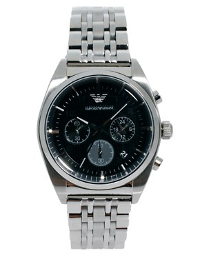 Image 1 of Emporio Armani AR0373 Chronograph Steel Watch
