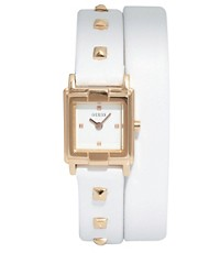 Guess Wrap &#39;N Roll Ladies Watch with Leather Strap