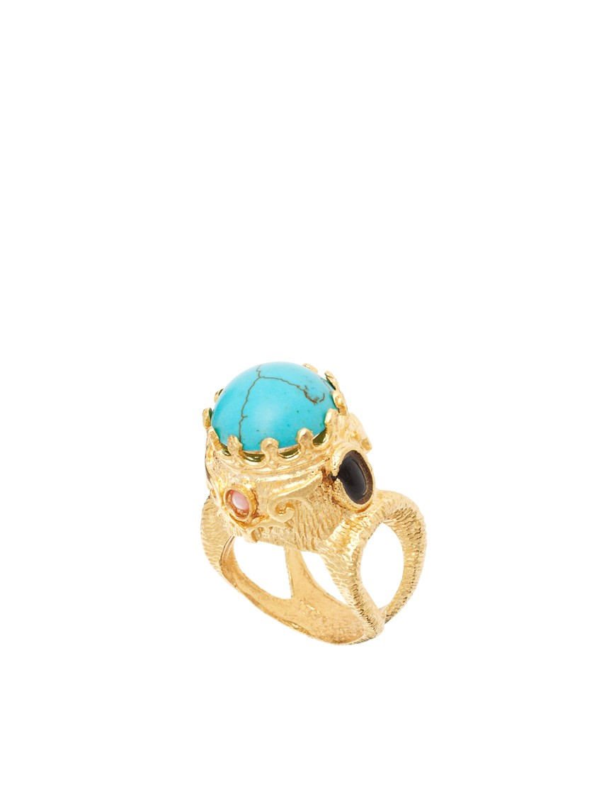 Image 1 of Ottoman Hands Ornate Ring