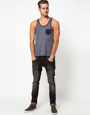 Image 4 ofASOS Vest With Contrast Pocket