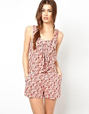Wal G Floral Playsuit
