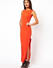 ASOS Maxi Dress With Square Side Cut Out