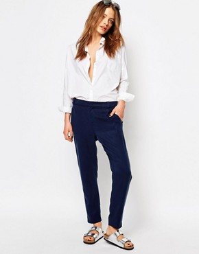 Boss Orange Tailored Peg Leg Trousers