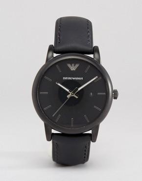 Emporio Armani Silicone Lined Watch AR1973