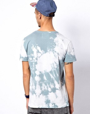 Image 2 of Worn By T-Shirt with Hendrix Poster Tie-Dye