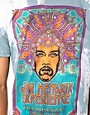 Image 3 of Worn By T-Shirt with Hendrix Poster Tie-Dye