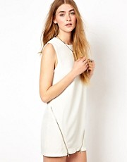 Goldie Shift Dress With Zips