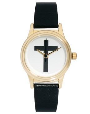 Image 1 ofASOS Cross Strap Watch