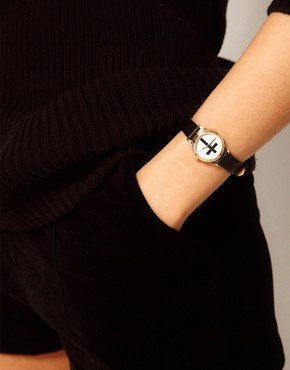Image 2 ofASOS Cross Strap Watch