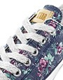 Image 4 ofConverse All Star Floral Ox Trainers