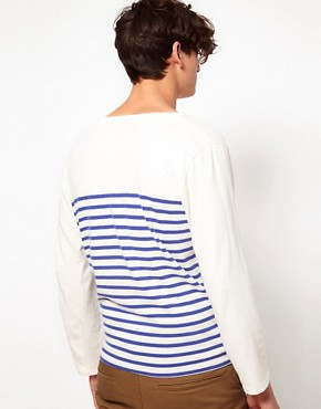 Image 2 ofLevis Made &amp; Crafted Long Sleeve Breton Top