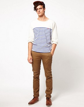 Image 4 ofLevis Made &amp; Crafted Long Sleeve Breton Top