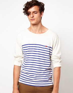 Image 1 ofLevis Made &amp; Crafted Long Sleeve Breton Top
