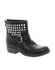 Steve Madden Outtlaww Stud Biker Boot