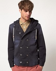 Diesel Spica Double Breasted Hooded Jacket