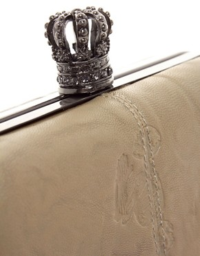 Image 4 ofReligion Royalty Hard Case Clutch