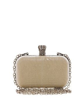 Image 1 ofReligion Royalty Hard Case Clutch
