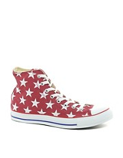 Converse All Star Printed Hi-Tops