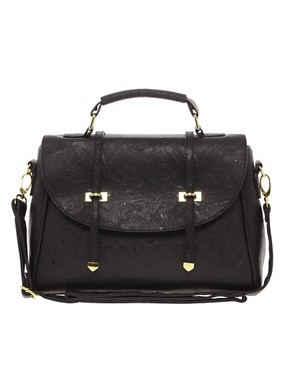 Image 1 of ASOS Metal Tip Satchel
