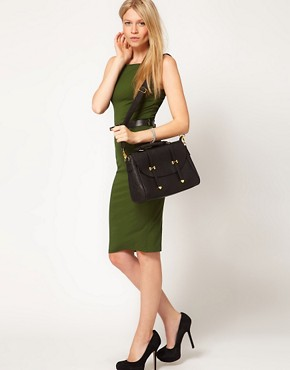 Image 3 of ASOS Metal Tip Satchel
