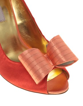 Image 2 ofTed Baker Philesia High Heel Peep Toe Court