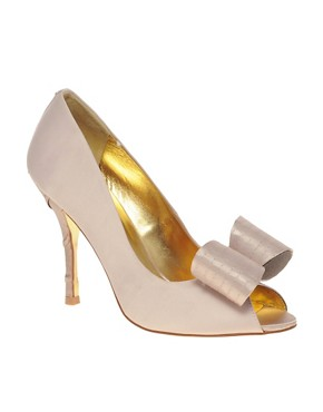 Image 1 ofTed Baker Philesia High Heel Peep Toe Court