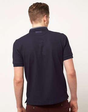 Image 2 ofFred Perry Polo Shirt Slim Fit Reinforced