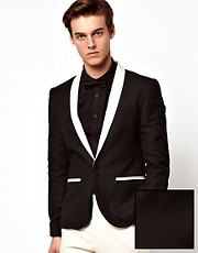 ASOS Slim Fit Tuxedo Suit Jacket