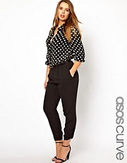 ASOS CURVE Utility Trouser With Tabs