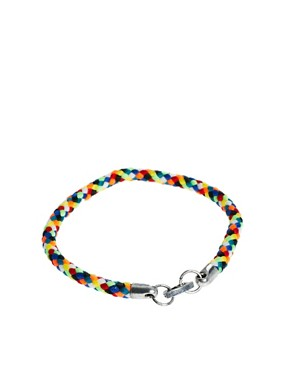 Image 2 ofASOS Bright Woven Bracelet