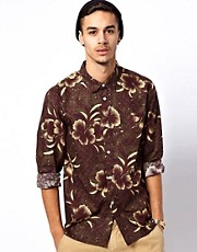 Stussy Shirt Hawaiian Print
